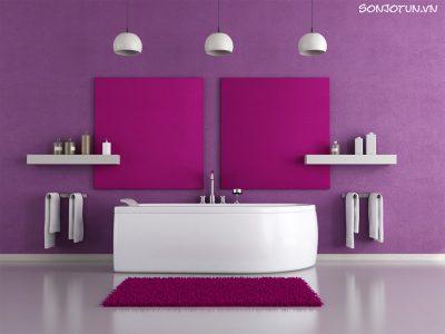 Những màu sắc nên tránh khi sơn nội thất