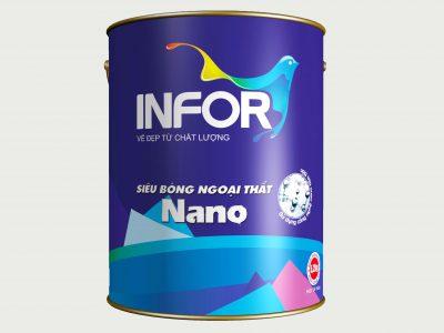 Sơn siêu bóng ngoại thất cao cấp Nano