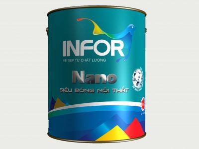 Sơn siêu bóng nội thất cao cấp Nano