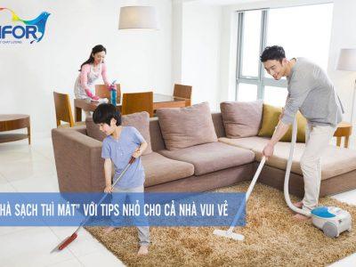 """""""Nhà sạch thì mát"""" với tips nhỏ cho cả nhà vui vẻ."""