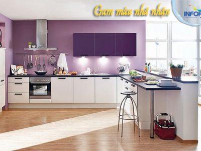 Cách chọn màu sơn nhà