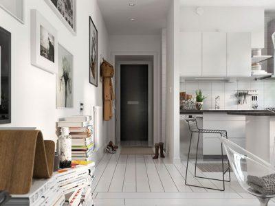 Trắng Tinh khôi với căn hộ hiện đại