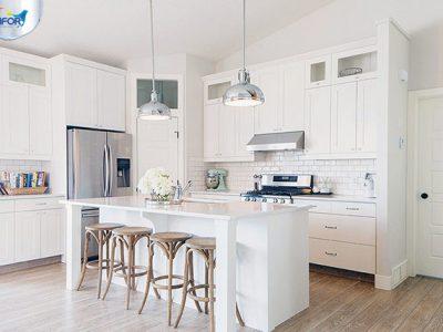 Phong thủy phòng bếp – Sắc màu ấm cúng của mọi nhà.