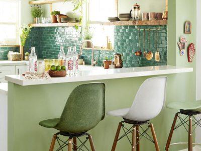 Những ý tưởng màu sơn làm bừng sáng không gian bếp