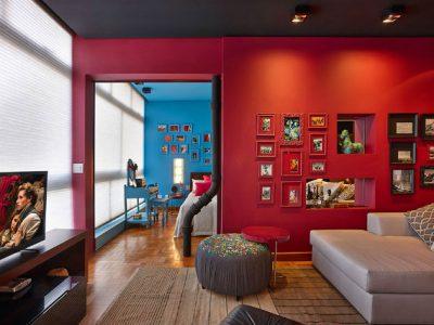 Mẹo chọn màu sơn giúp tăng diện tích căn phòng
